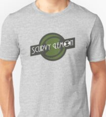 Scurvy Lemon Dark Green Unisex T-Shirt