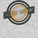 Scurvy Lemon Dark Green/Grey by Elton McManus