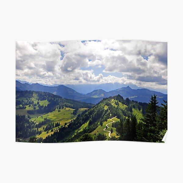 The Gorgeous Austrian Alps Poster