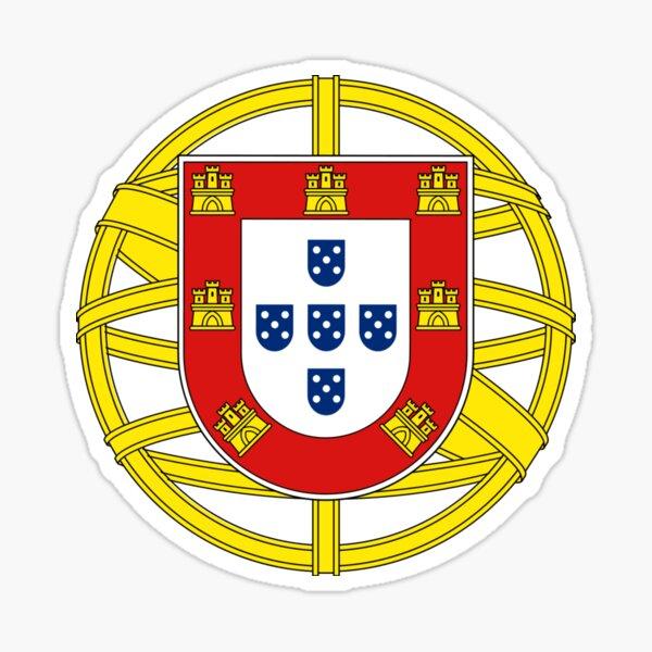 Symbol on the Portuguese Flag Sticker