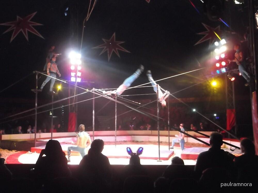 Zippo's Circus/Cuban Troupe Acrobats -(150413)- Digital Photo/FujiFilm FinePix AX350 by paulramnora