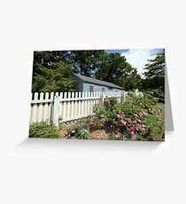 Sturbridge Garden Greeting Card