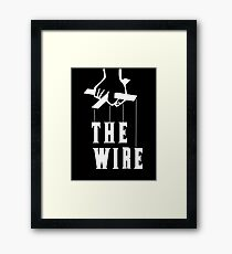 The Wire Framed Print