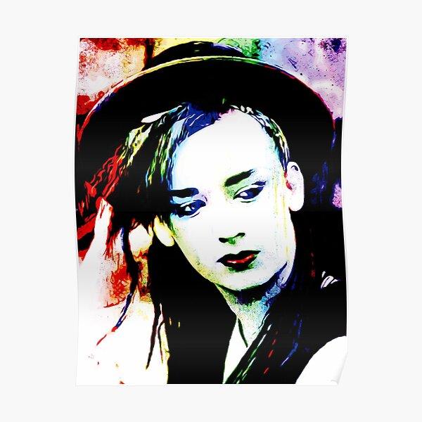 Boy George | Pop Art Poster