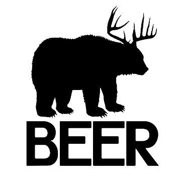 BEER ( Deer and Bear Fusion) by VovaShirts