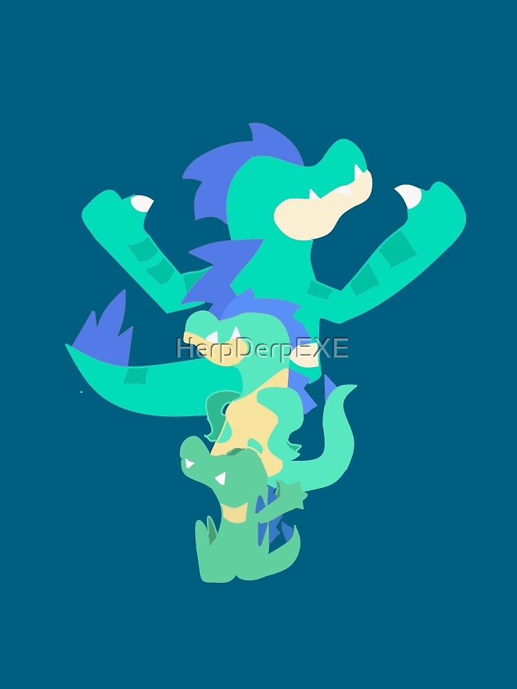 Pokemon Totodile Evolution Line Shiny Greeting Card By Herpderpexe Redbubble Be sure to look for the shiny symbol next to its name when on the capture screen if you are unsure whether you've come across one. redbubble