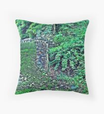 Once Were Guards  Throw Pillow