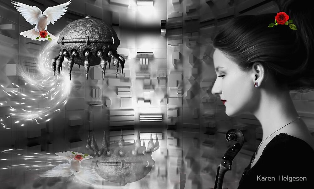 Visions.... by Karen  Helgesen