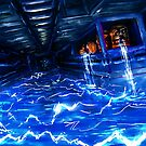 Metroid Metal: Electric Bath (Fusion- sector 4) by LightningArts