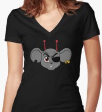 Biker Mice from Mars - Modo Women's Fitted V-Neck T-Shirt