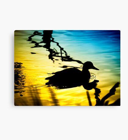 Sunset on Jubilee Lake Canvas Print