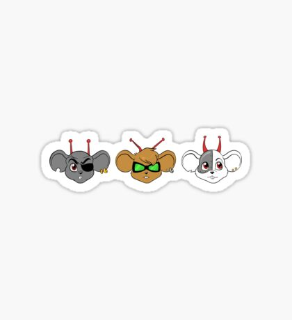 Biker Mice from Mars Sticker