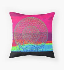 A City On The Rise Throw Pillow