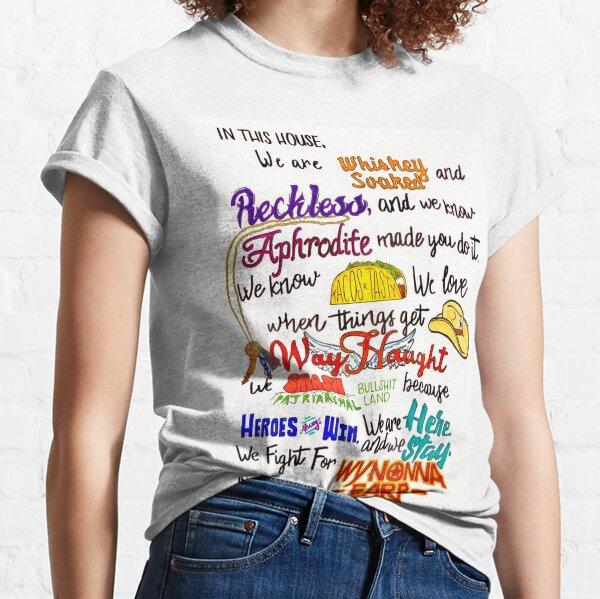In This House...Wynonna Earp Camiseta clásica