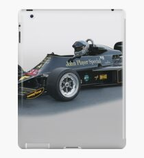 1976 Lotus Formula One Racecar iPad Case/Skin