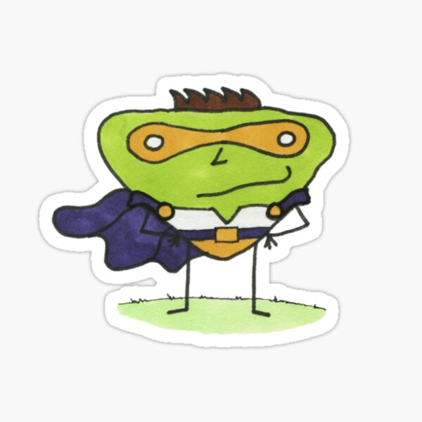 Super Stoof by Brent Florica Sticker