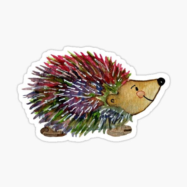 Hedgie the hedgehog - Watercolor Sticker
