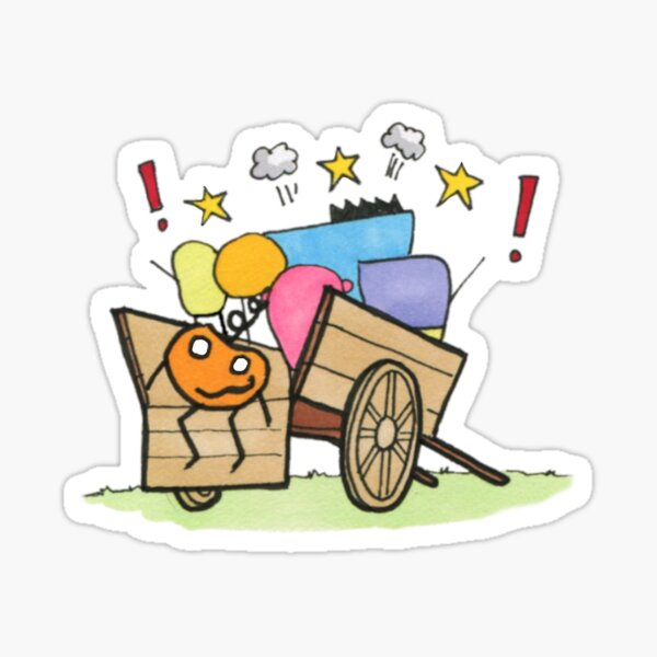 Bandwagon by Brent Florica Sticker