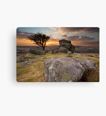 Emsworthy Sunset Canvas Print