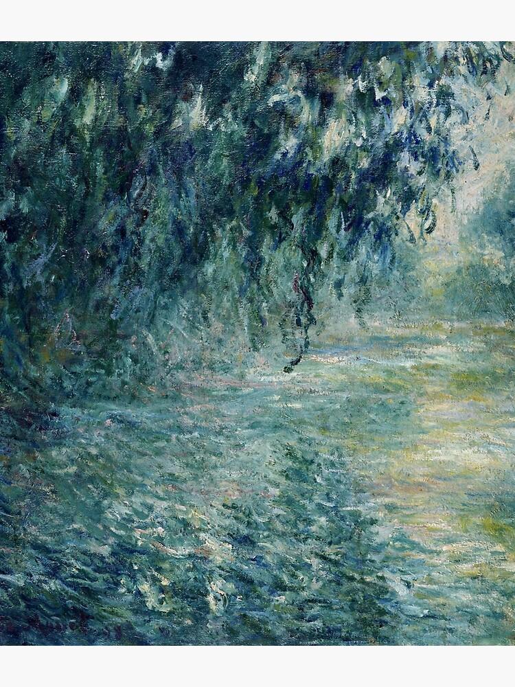 Monet Morning on the Seine Fine Art by bragova
