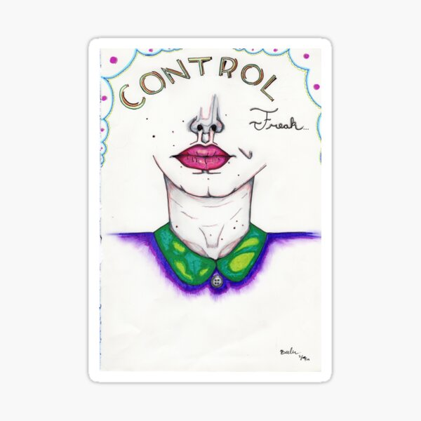 Control Freak  Sticker
