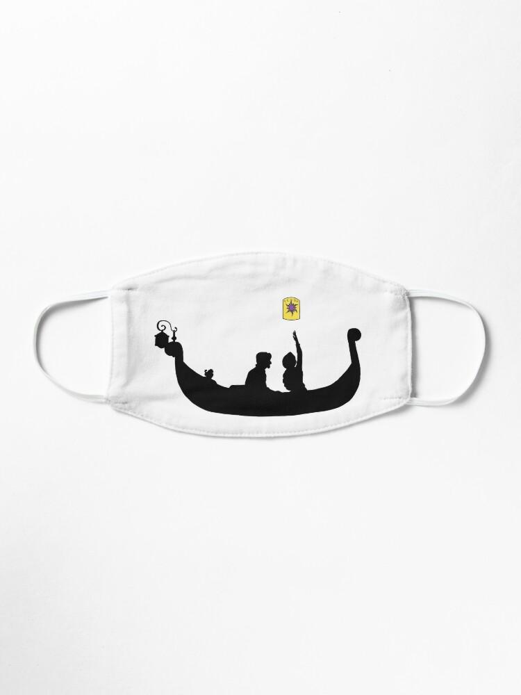 Lost Princess Boat Silhouette Mask By Ibutterflye7 Redbubble