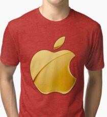 Gold Apple Tri-blend T-Shirt