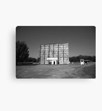 Route 66 Drive-In Movie Canvas Print