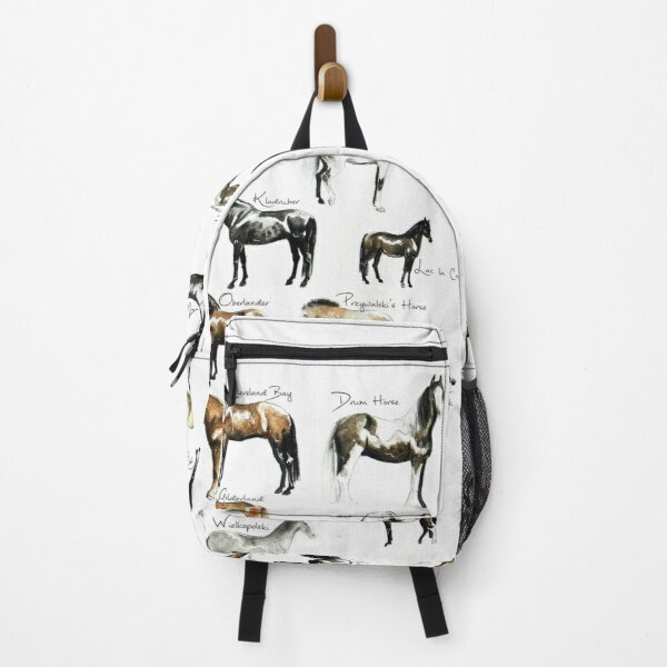 Rare Horse Breeds ABC  Backpack