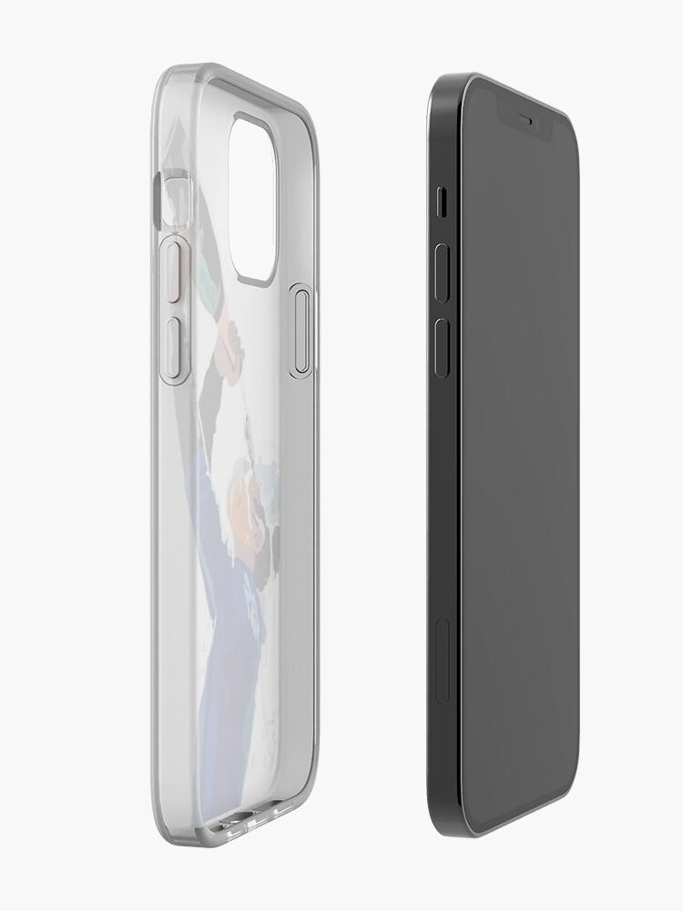 Coque iPhone '' Lando Norris': autre vue