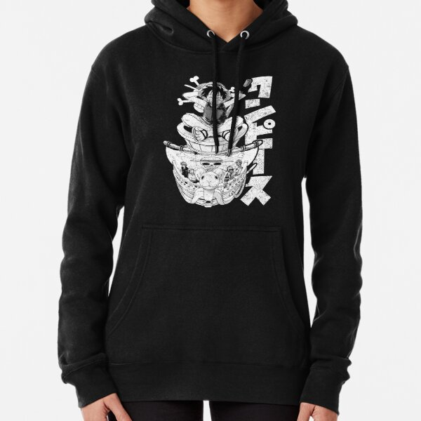 Straw Hats! (white) Pullover Hoodie