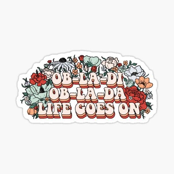 Ob-la-di Sticker