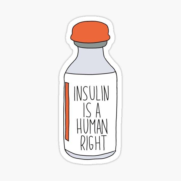 Insulin is a Human Right Sticker