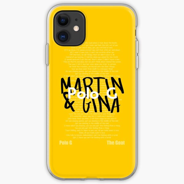 Polo G Martin and Gina Poster iPhone Soft Case