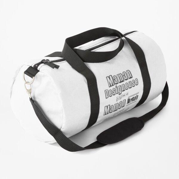 Designer Mom Like a Normal Mom Downright Cool Humor Gift Duffle Bag