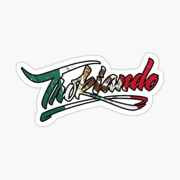 Trokiando Mexican Logo Sticker