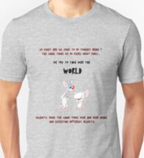 pinky and the brain insanity  T-Shirt