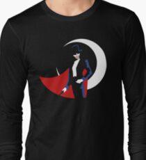 Tuxedo Mask on black Long Sleeve T-Shirt