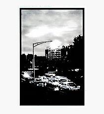 Hobart at dawn Photographic Print