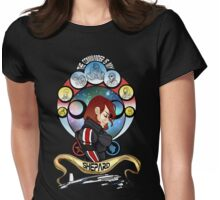 The Commander is my Shepard (RED HEAD EDITION) Womens Fitted T-Shirt