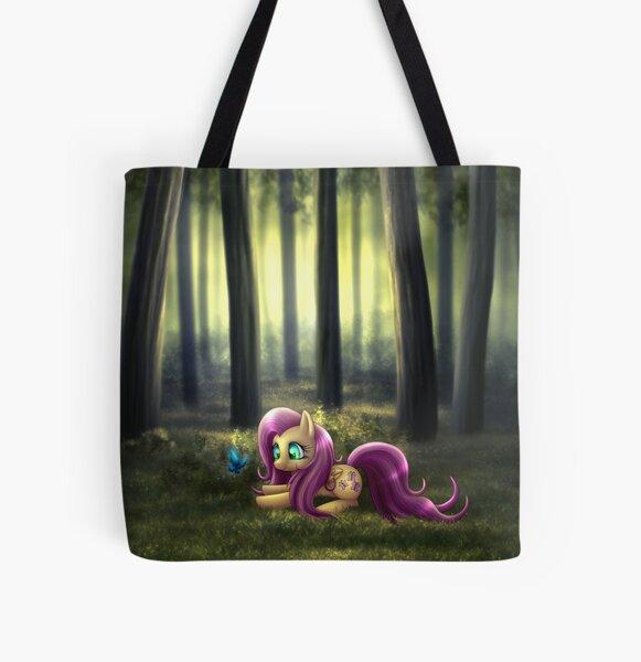 My Little Pony Fan Art - Fluttershy All Over Print Tote Bag
