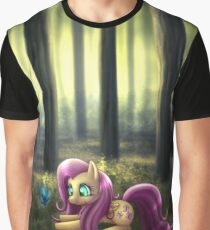 My Little Pony Fan Art - Fluttershy Graphic T-Shirt