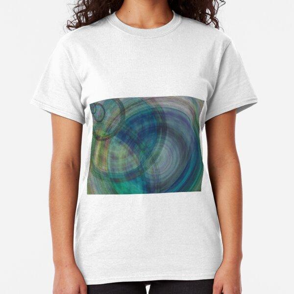 Echoes of Raindrops Conceptual Art Classic T-Shirt