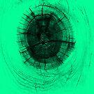 Tree Knot in Green by pjwuebker