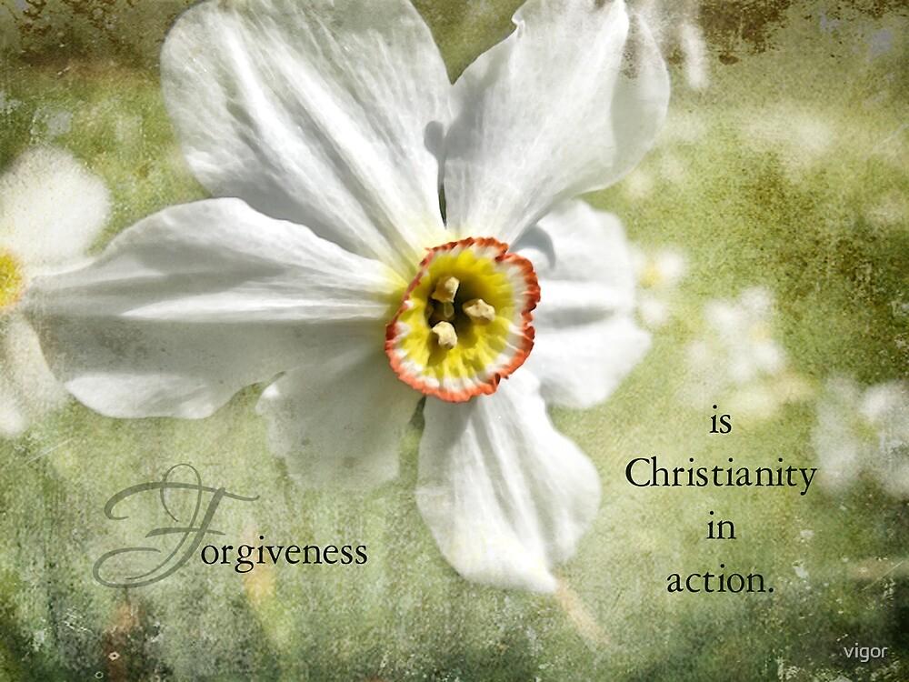 Forgiveness is~inspirational by vigor