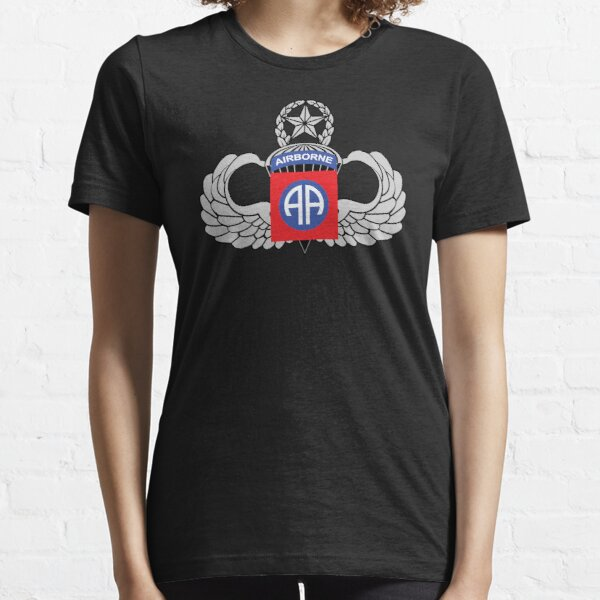 82nd Airborne Master Jump Wings Essential T-Shirt