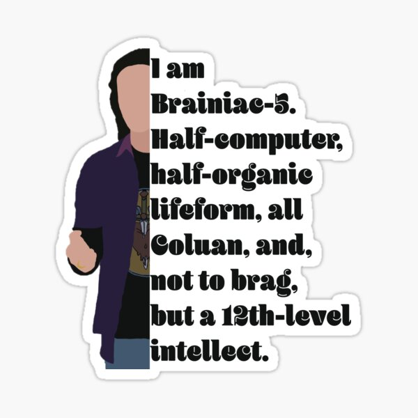 not to brag, but a 12-th level intellect Sticker