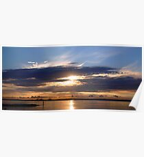 SUNRISE IN BOTANY BAY Poster
