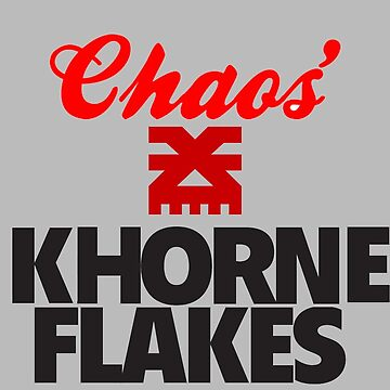 Khorne Flakes by traintracks