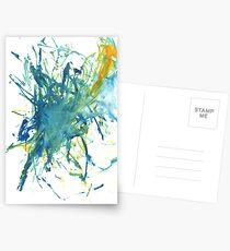 HC- String Paint Postcards